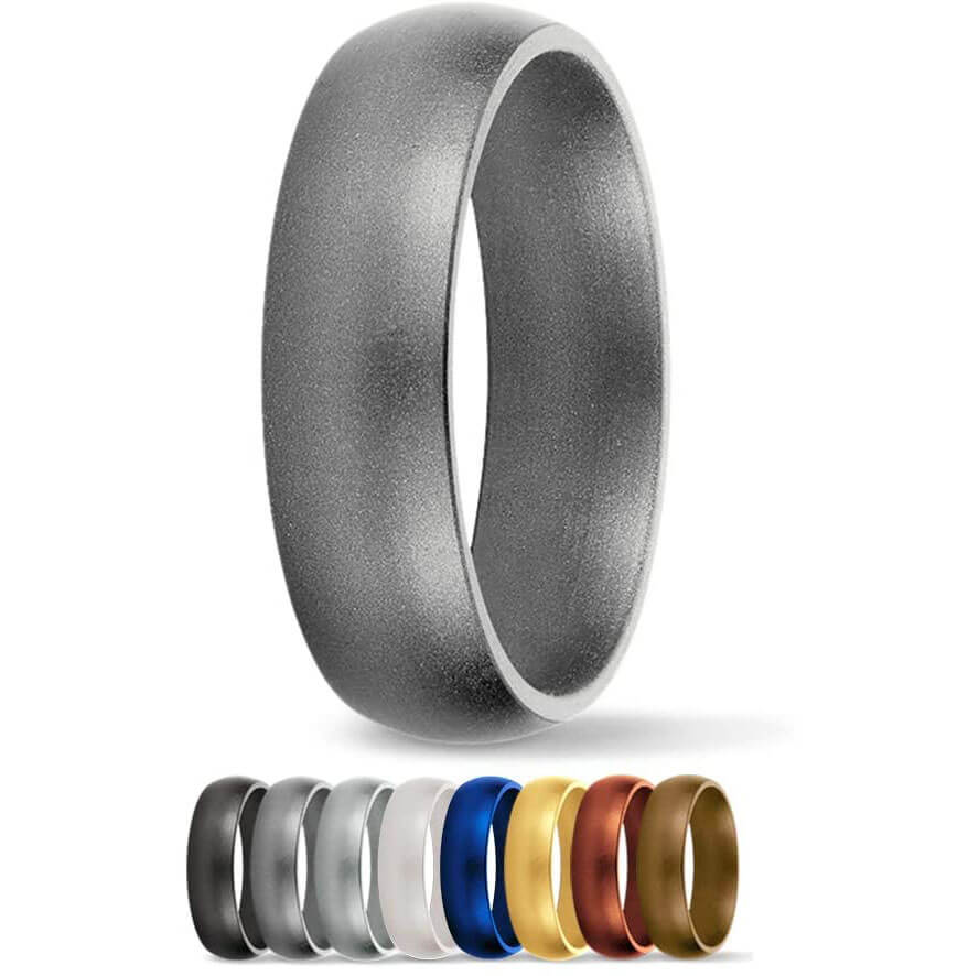 SafeRingz Silicone 6MM Wedding Ring