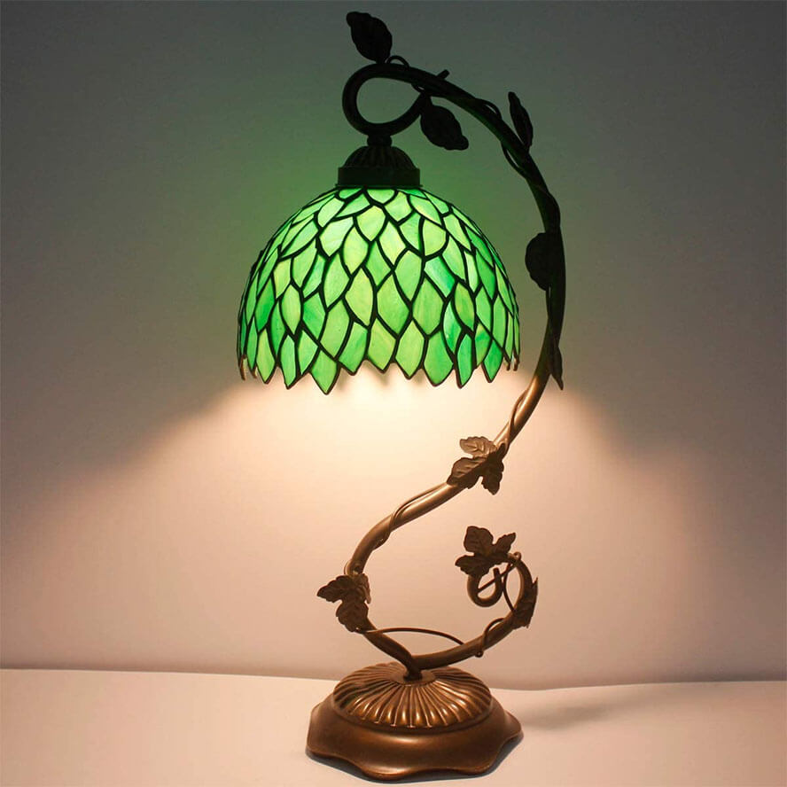 Tiffany Lamp Stained Glass Table Bedside Lamp