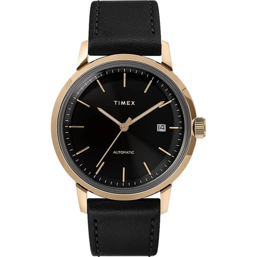 Timex - Marlin 40mm Automatic Leather Strap Watch